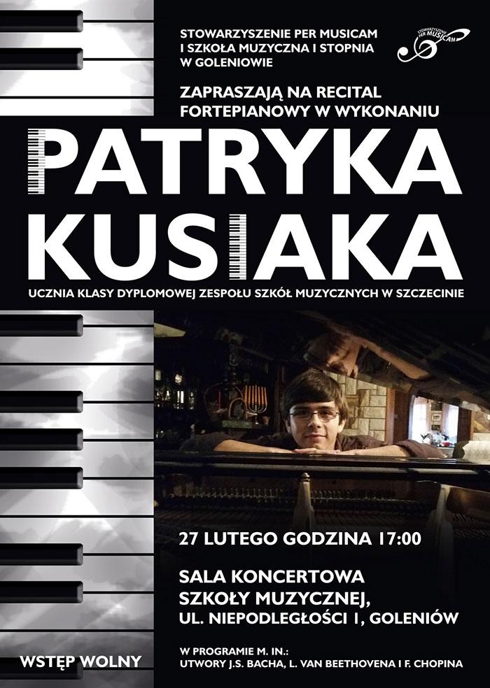 Recital Patryka Kusiaka