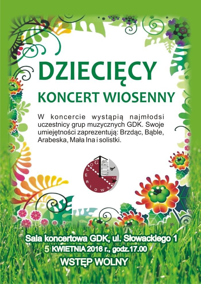 Dziecięcy koncert wiosenny
