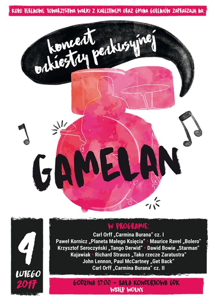 Koncert orkiestry perkusyjnej Gamelan
